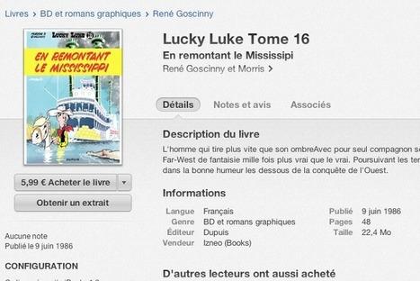 Apple frappe de censure Lucky Luke : dictature de l'opérateur unique | Bibliothèque et Techno | Scoop.it