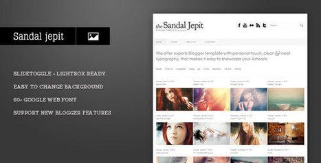 Free Theme List: Sandal Jepit - Themeforest Blogger Theme | Blogger themes | Scoop.it