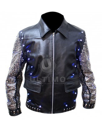 Chris Jericho Light Up Jacket | Celebrities Leather Jackets | Scoop.it