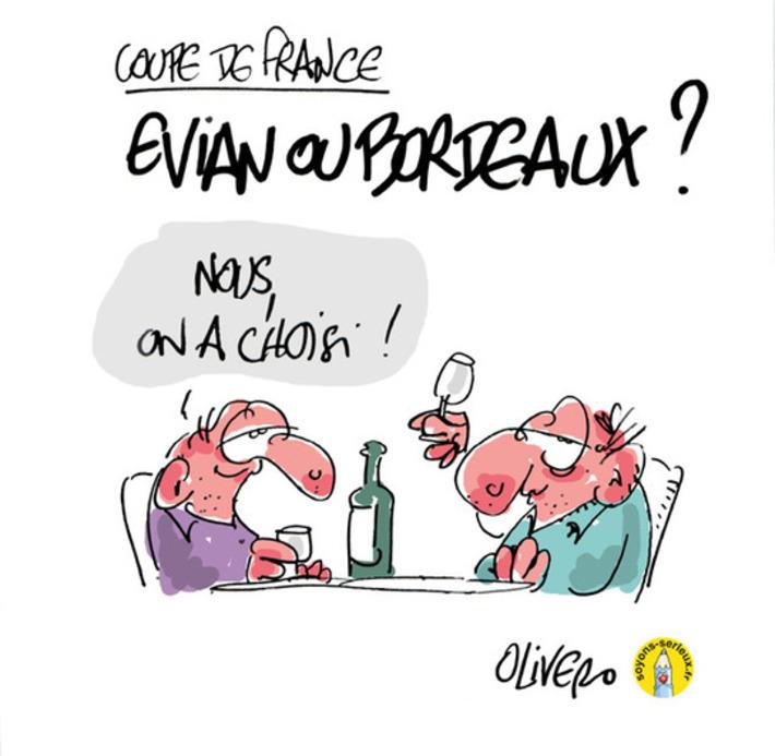 Evian et Bordeaux en finale de la Coupe de France   Baie d'humour   Scoop.it