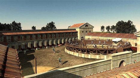 Archaeologists recreate ancient Roman gladiator school found in ... | Ancient Archaeology | Scoop.it