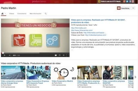 Cómo vender más con Youtube Marketing y mejorar la imagen de nuestra empresa | Tipos en Movimiento - Producción Audiovisual | Scoop.it