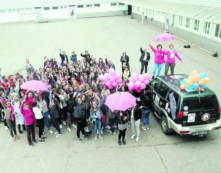 Durant un an, les élèves dans la roue des «Roses des sables» | Collège Jean Moulin | Scoop.it