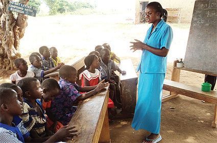 Gomba pupils have no roof   Education in Uganda   Scoop.it