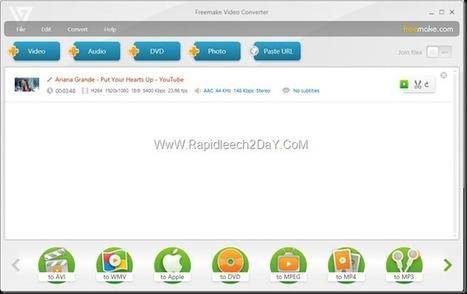 FreeMake Video Converter 4.0.0 -  Best Freeware Video Converter - Latest version offline installer   Rapidleech2day   Scoop.it