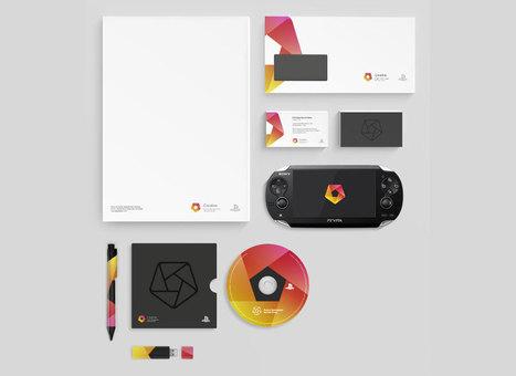 Corporate colors and shape graphic languages | Identité de marque | Scoop.it