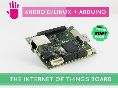 UDOO Neo = Raspberry Pi + Arduino + Wi-Fi + BT 4.0 + Sensors | Open Source Hardware News | Scoop.it