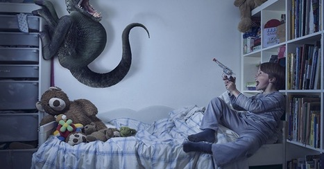 Kids Challenge the Monsters Under Their Bed in Cute Photo Series | Advertising, I say | Scoop.it