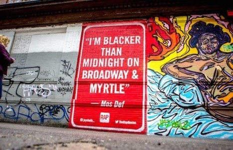 Street Artist Jay Shells Paints Hip Hop-Inspired Mural in Brooklyn - artnet News | Webdesign Glance | Scoop.it