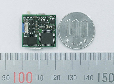 """U-BRAIN MicroSmart is a Tiny """"15-Axis"""" Sensor Module with Bluetooth or Zigbee Connectivity 
