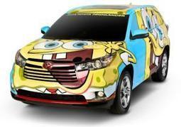 'SpongeBob'-themed Toyota Highlander makes a splash - New York Daily News | Toyota | Scoop.it