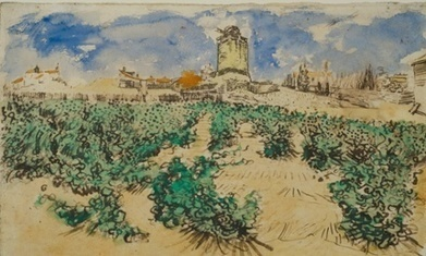 Van Gogh landscape to be shown for first time in 100 years   Arts   Scoop.it