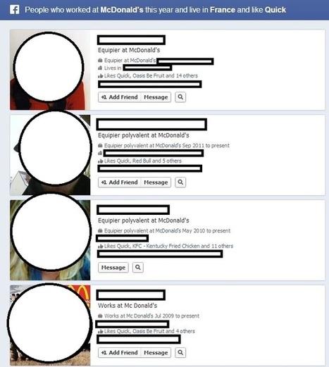 Nous avons testé « Graph Search », le nouveau moteur de recherche sur Facebook | Libertés Numériques | Scoop.it