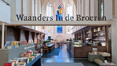 Une église du XVème siècle reconvertie en librairie | BiblioLivre | Scoop.it