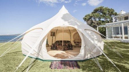 Lotus Belle Outback Deluxe tent delivers glamping for under $2,500 | Bridget Brogobello | GizMag.com | @The Convergence of ICT & Distributed Renewable Energy | Scoop.it
