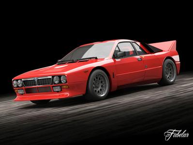 Lancia Stradale : voiture en 3D | 3D Library | Scoop.it