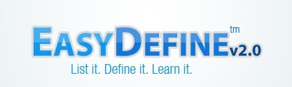 EasyDefine - Define multiple words quickly | ESL learning and teaching | Scoop.it