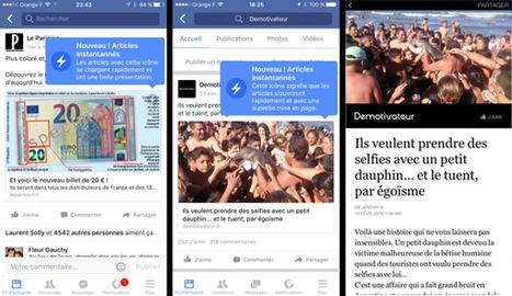 Facebook Instant Articles pour tous, quelles conséquences ? | Réseaux sociaux pour l'entreprise | Scoop.it