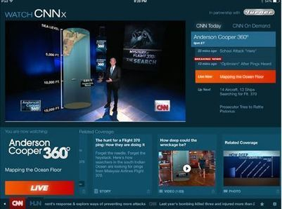 CNNx Empowering Digital, Second Screen Viewers to Customize Experience - Lost Remote | Big Media (En & Fr) | Scoop.it