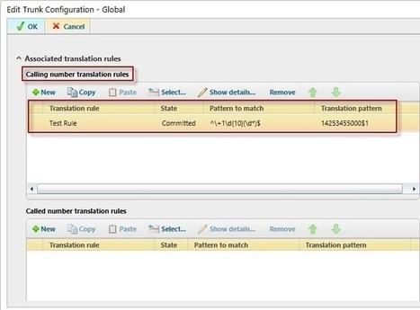 Calling Number Translation in Lync Server 2013 - Windows IT Pro   Microsoft Lync Server 2013   Scoop.it