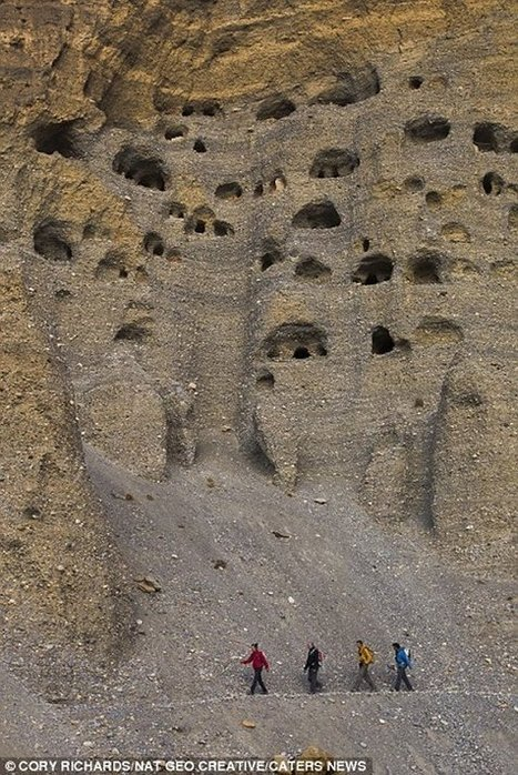 Enigmatic Ancient Sky Caves Of Nepal - MessageToEagle.com | Ancient Cities | Scoop.it