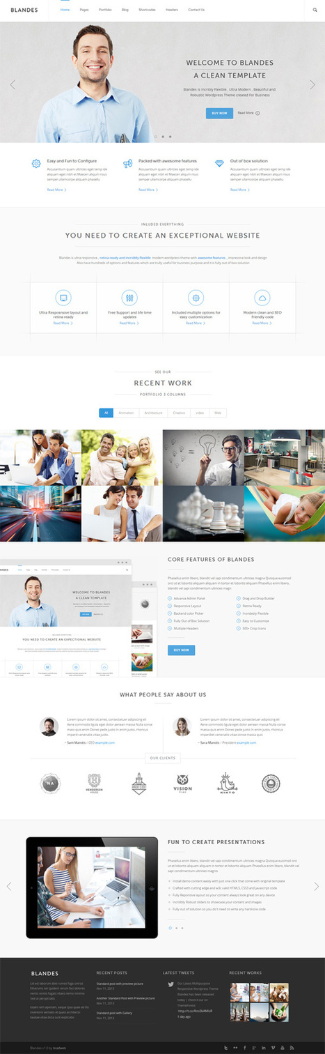 Responsive WordPress Themes with Advance WP Admin Panel | Digital-News on Scoop.it today | Scoop.it