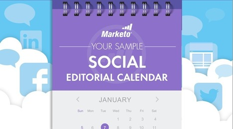 Why You Need an Editorial Calendar for Social | On Line Marketing | Scoop.it