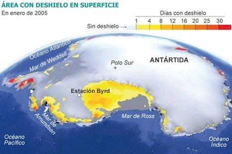 La Antártida Occidental registra un rápido calentamiento | Agua | Scoop.it