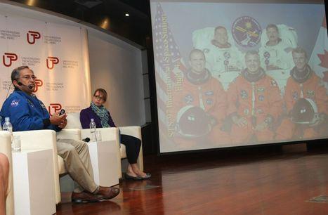 Astronauta peruano resalta avances en tecnología espacial en el país | Píldoras de realidad | Scoop.it