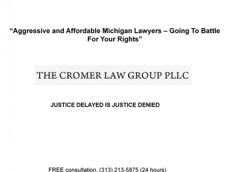 Michigan Contract Attorneys | The Cromer Law Group | Scoop.it
