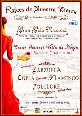Interesante propuesta en el Centro Cultural Villa de Nerja el viernes 24 de octubre. | Cosas de mi Tierra | Scoop.it