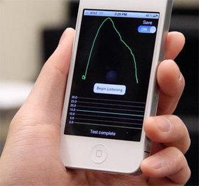 La aplicación SpiroSmart para el iPhone estima con precisión el volumen de aire pulmonar | espirometria | Scoop.it