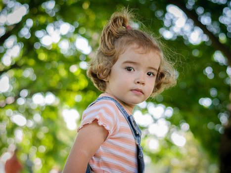 Using the Bokeh Effect in Child Portraits | LIGHTROOM and photography | Scoop.it