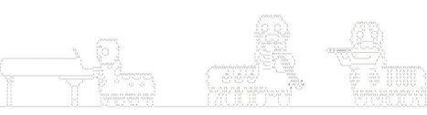 Musical Caterpillars | ASCII Art | Scoop.it