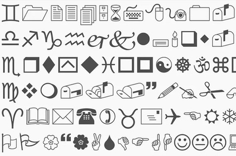 The Story Behind The Quirky Wingdings Font That Is Made Entirely Of Symbols - DesignTAXI.com | IELTS, ESP, EAP and CALL | Scoop.it