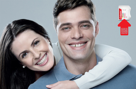 Colgate Sells Dental Floss With Help From Photoshop Disasters | Simply Awesome | Scoop.it