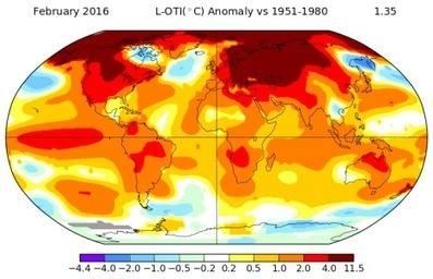 Climate: More global heat records tumble | Farming, Forests, Water, Fishing and Environment | Scoop.it