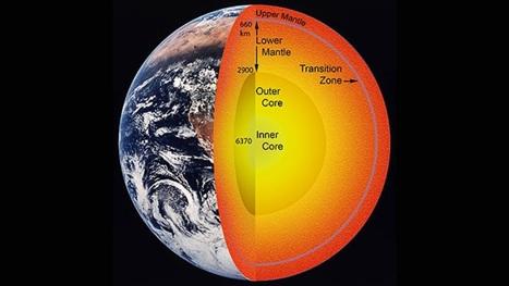 El manto terrestre podría contener océanos de agua mayores que los de la superficie | Tecnología y Educación | Scoop.it