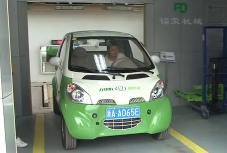 China launches electric car rental vending machine | AOL Cars UK | Dont panic | Scoop.it