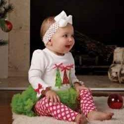 Beautiful Baby Christmas Outfits for the Holidays | onesmallchild | Scoop.it