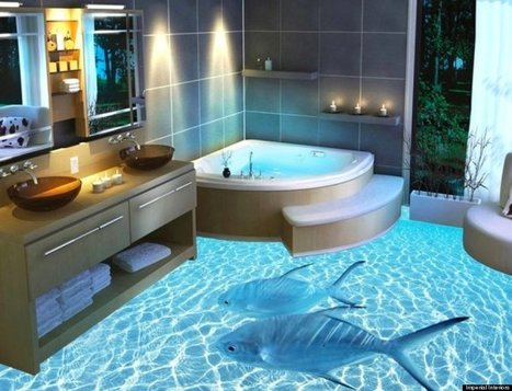 3-D flooring is the weirdest home decor trend | D_sign | Scoop.it