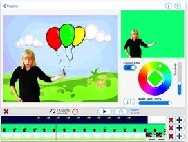 3 Powerful Apps for Creating Green Screen Videos with Students ~ Educational Technology and Mobile Learning   http-www-scoop-it-t-the-magic-kite-ett   Scoop.it