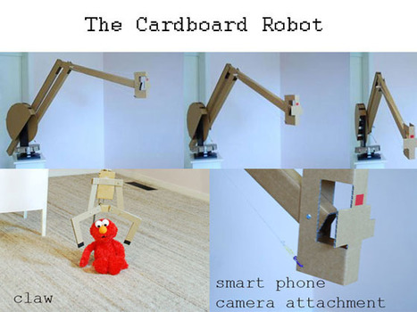 Cardboard Robots Are Coming | Robot Launch Pad | The Robot Times | Scoop.it