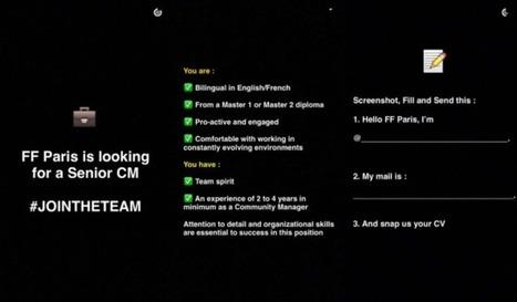 Fred et Farid recrutent par Snapchat ! - Il était une pub | innovation_recrutement | Scoop.it