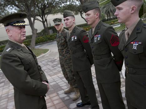 Legendary Marine General Jim Mattis On What Makes This Generation of American Veterans Different - Task & Purpose | leadership | Scoop.it