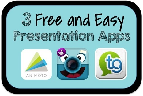 3 Free and Easy Presentation Apps | Technology in Education | Scoop.it