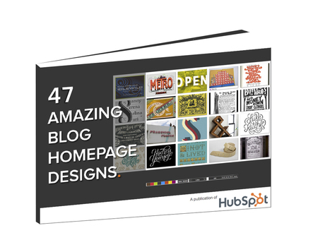 Free Collection: 47 Amazing Blog Homepage Designs | Les Livres Blancs d'un webmaster éditorial | Scoop.it
