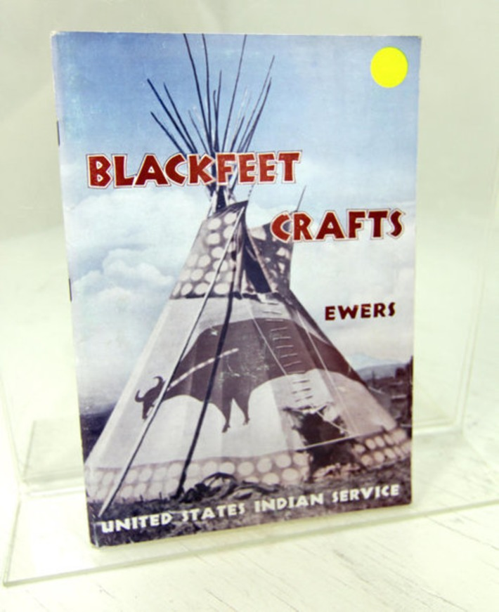 Blackfeet Crafts John C. Ewers Vintage Native American Handcrafts United States Indian Service Arts History Dept Interior 1945 | Cultural History | Scoop.it