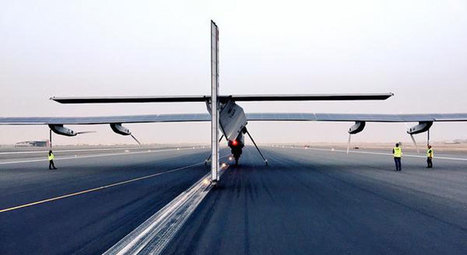 Could This Be Our Green Future? A Solar Powered Plane Takes Its First Ever Flight Around The World | Futurewaves | Scoop.it