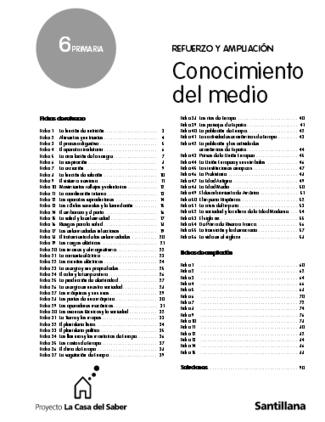 Fichas de Refuerzo y Ampliación de Conocimiento del Medio. 6º ... | Conocimiento del Medio 6º de Primaria | Scoop.it